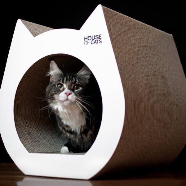 Drapak dla kotów Cat White