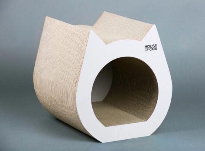 Drapak Cat White