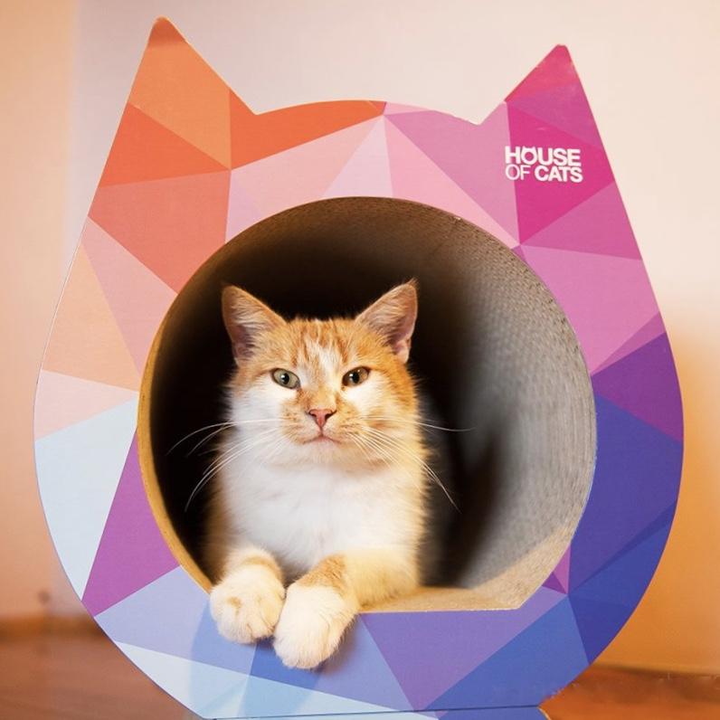 Drapak dla kotów triangle